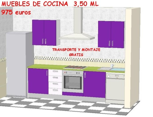 Awesome Muebles Cocinas Baratas Ideas - Casa & Diseño Ideas ...
